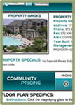 Visit Properties/List The Leasing Consultants on Guest Card